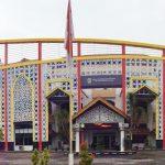 Gedung Perpustakaan Sumut yang juga menjadi kantor Dewan Perpustakaan Sumut (int)
