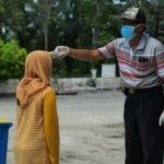 Pulang Pelatihan di Bekasi, 11 Warga Asahan Disemprot Disinfektan
