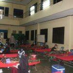 Personil Satuan Brimob Polda Sumut menggelar donor darah di Aula Yanma Makosat Brimob Poldasu, Kamis (9/4/2020).