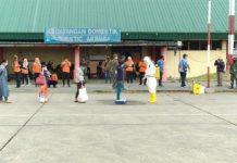 Pemulangan Ketiga, 120 TKI dari Malaysia Tiba di Lanud Soewondo
