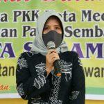 Plt Ketua TP PKK Medan, Nurul Khairani Akhyar Nasution