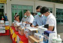 Perhimpunan Masyarakat Indonesia Tionghoa Sumut (MITSU) memberikan bantuan alat kesehatan dan alat pelindung diri kepada 20 rumah sakit di Sumatera Utara.