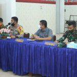 Polres Asahan gelar rapat koordinasi lintas Sektoral OPS Ketupat Toba 2020 dalam rangka Idul Fitri 1441 H.