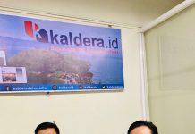 Ricky Alanda (kanan) dan Muhammad Ridwan Lubis mengungkap kondisi mereka sekarang menghadapi hidup pasca di PHK sepihak oleh Aryaduta Hotel.
