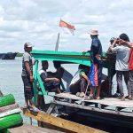 Masyarakat Desa Pulau Sembilan Kec Pangkalan Susu Kab Langkat tolak kedatangan kapal asing pengangkut ikan berbendera Hongkong, kapal MV Cheung Kam Wing/Cheung Lai Chun.