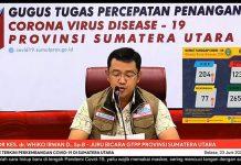 Juru Bicara Gugus Tugas Percepatan Penanganan (GTPP) Covid-19 Sumut Whiko Irwan