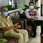 Plt Walikota Medan, Akhyar Nasution saat pertemuan terkait Pilkada Kota Medan 2020.