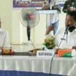 Rapat pembahasan pemulangan 184 Pekerja Migran Indonesia (PMI) asal Kabupaten Asahan yang berada di Malaysia, Rabu (3/6/2020).