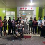 Salah satu tersangka curanmor RBS, 33, warga Jalan Turi Bahagia, Medan yang berhasil dilumpuhkan dengan timah panas oleh Team Khusus Anti Bandit (Tekab) Polsek Medan Kota dan dibawa ke RS Bhayangkara Polda Sumut.