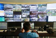 Tampilan CCTV PT Angkasa Pura II (Persero) Bandar Udara Internasional Deli Serdang.