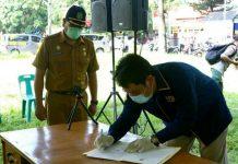 Panitia Pemungutan Suara (PPS) untuk Pilkada Kota Medan 2020 dilantik oleh Ketua KPU Kota Medan, Agussyah R Damanik.