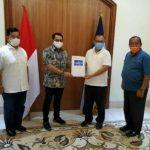 Plt Walikota Medan, Akhyar Nasution dengan Para Petinggi Partai Demokrat