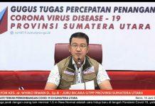Juru Bicara Gugus Tugas Percepatan Penanganan (GTPP) Covid-19 Sumut, Whiko Irwan