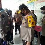 Kapolda Sumut, Irjen Pol Martuani Sormin saat kunjungan kerja ke Polres Tanah Karo, Kamis (18/6/2020).