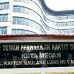 Gedung DRPD Kota Medan, Jln. Kapten Maulana Lubis No. 1 Medan.