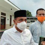 Gubernur Sumatera Utara, Edy Rahmayadi dan Walik Gubsu, Musa Rajekshah.