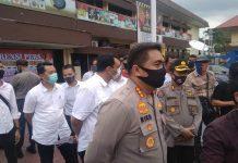 Kapolrestabes Medan Kombes Pol Riko Sunarko saat ditemui wartawan di Mapolrestabes Medan.