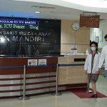 RS Ibu dan Anak YPK Mandiri Jakarta, rumah sakit tempat Kahiyang Ayu melahirkan anak ke-2nya.