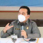 Kadis Kesehatan Kota Medan yang juga Wakil Ketua GTPP Covid-19 Kota Medan, Edwin Effendi