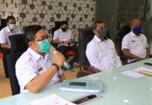 Sekda Kota Medan, Wiriya Alrahman saat lakukan penegasan PSU di perumahan dan permukiman paling lambat satu tahun.