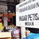 Pasar Petisah, salah satu pasar tradisional di Kota Medan milik Pemko Medan. Saat ini keberadaan pasar tradisional masih kurang di Kota Medan.