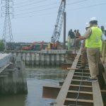 Jembatan Titi Dua Sicanang Mulai Dibangun, Akhyar Pantau Terus Pengerjaan