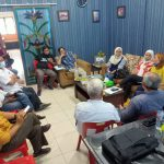 Suasana rapat SMSI Sumut dalam persiapan verifikasi faktual Dewan Pers, kemarin.