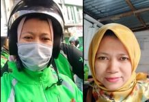 driver ojek online (ojol) Fitri Yanti (44) yang tewas di bunuh.