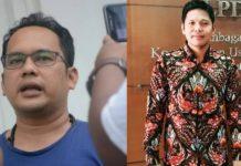 Anggota DPRD Padangsidimpuan Irfan Harahap (kiri) dan Iswandy Arisandy (kanan).