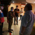Satpol PP dan Dinas Pariwisata lakukan sosialisasi Perwal guna cegah Penyebaran Covid-19 di Kota Medan.