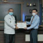 Plt Walikota Medan, Akhyar Nasution dengan pimpinan PT Surya Daindo Harmoni.