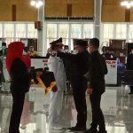 Gubernur Sumatera Utara (Sumut) Edy Rahmayadi melantik 10 Pejabat Sementara (Pjs) Kepala Daerah (KDh), Jumat (25/9/2020)