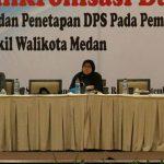 KPU Kota Medan segera menetapkan Daftar Pemilih Sementara (DPS) Pilkada Kota Medan 2020.