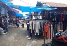 Pedagang Meninggal Akibat Covid-19, Aktivitas Jual Beli di Pasar Melati Dihentikan Sementara