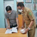 Kaban Kesbangpol dan Linmas Kota Medan, Sulaiman Harahap dan Ketua KPU Kota Medan, Agussyah R Damanik