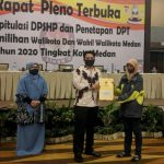 Rapat pleno terbuka rekapitulasi Daftar Pemilih Sementara Hasil Perbaikan (DPSHP) menjadi DPT