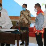 Acara Kick Off Meeting Perdana Penyusunan Urban Mobility Plan (UMP) Mebidangro yang dipimpin Gubsu, Edy Rahmayadi dan dihadiri Pjs Walikota Medan, Arief S Trinugroho.