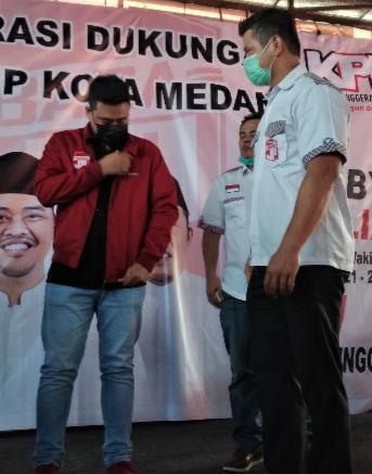 Calon Walikota Medan nomor urut 2, Bobby Afif Nasution