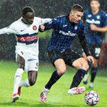 Atalanta menang 4-0 di Liga Champions tadi malam.(medcom)