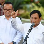 Edhy Prabowo saat bersama Prabowo Subianto