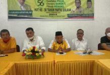 Rapat persiapan Musda, Rabu (4/11/2020).