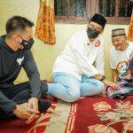 Muhammad Aufar Hutapea selaku suami artis Olla Ramlan dan Bobby Nasution.