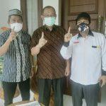 Calon Walikota Medan, Akhyar Nasution serta Tokoh masyarakat Brayan Kota, Zulham dan Muhammad Nur