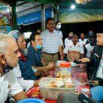 Muhammad Bobby Afif Nasution saat berbincang dengan Komunitas Masyarakat India Muslim.