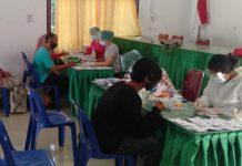 Jelang Pilkada, Petugas KPPS di Aek Kuasan Jalani Rapid Test