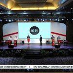 Debat kedua Pilkada Kota Medan