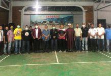 Persatuan Bulu Tangkis Ganda Super (PBGS) foto bersama.