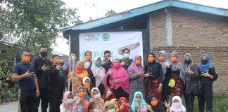 kegiatan Gerakan Dolanan Olahraga Rakyat (GEDOR) bekerjasama dengan Rumah Qur'an Mas'ud Silalahi