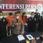 Konferensi Pers Polrestabes Medan