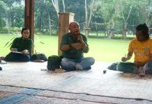 Ketua Umum FAJI Medan M Azhim Bakrie (tengah) dan Ketua Harian FAJI Medan, Yudha Pohan (kanan).(ist)